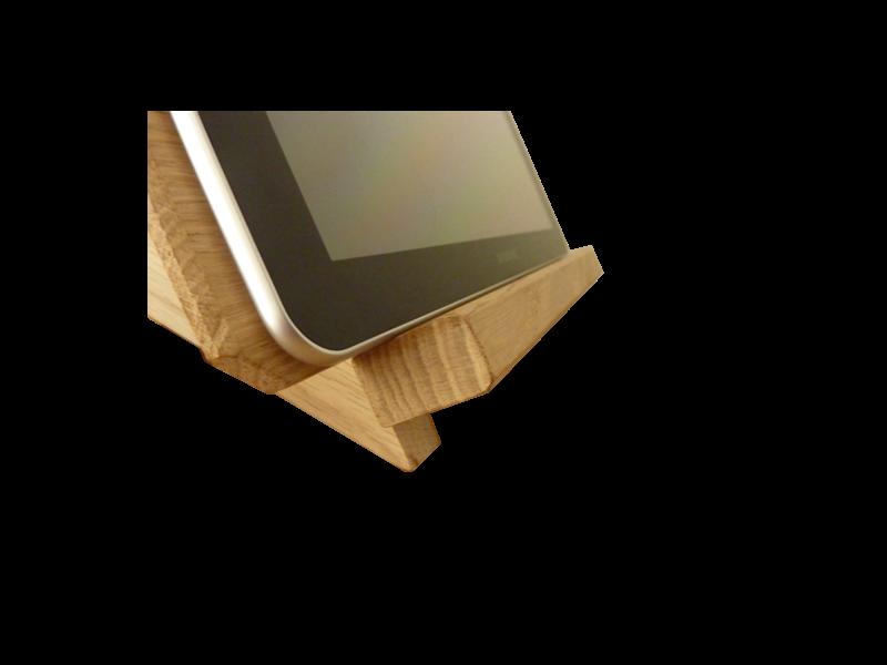 support pour tablette tactile petit bois brut fabriquant de meubles et objets en bois massifs. Black Bedroom Furniture Sets. Home Design Ideas