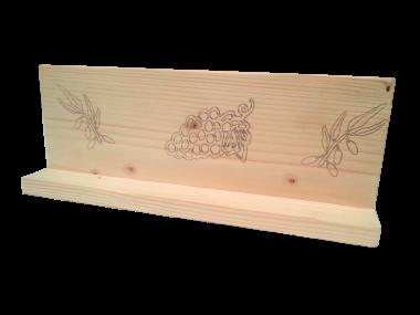 Elegant gravure motifs plaque en bois grav gravure motifs with caisson bois brut - Leroy merlin porte des alpes ...