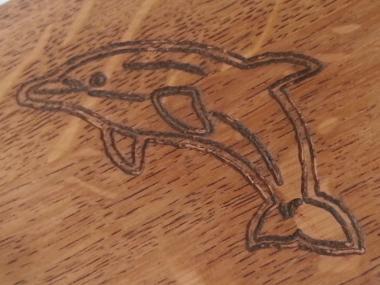 Gravure sur bois dessin
