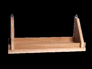 Etag re en ch ne petit bois brut fabriquant de meubles - Etagere murale bois brut ...